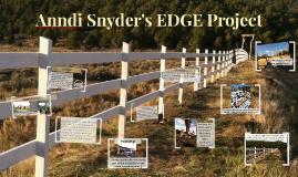Anndi Snyder EDGE