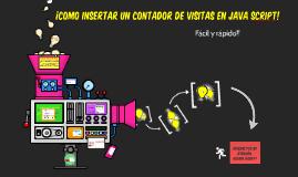 Insertar un Contador en Java Script