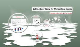 Graduate Students & Postdocs: Preparing for Networking Events_2016