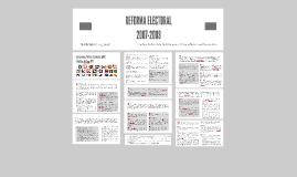 Copy of Reforma Electoral 2007-2008 / Agrupaciones Políticas Nacionales y Partidos Políticos