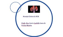 Manejo Clínico da DCR
