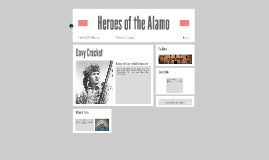 Copy of Heroes of the Alamo