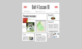 Unit 4 Lesson 18
