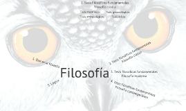 Tesis Filosóficas Fundamentales Clásicas 2018
