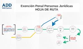 Responsabilidad Penal de Personas Jurídicas - Hoja de Ruta para la Exención