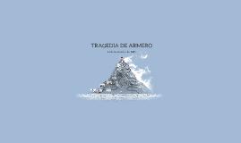 TRAGEDIA DE ARMERO