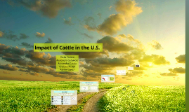 Cattle in the U.S. Version 2