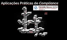 Aplicações práticas de Compliance
