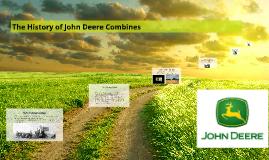 The History of John Deere Combines