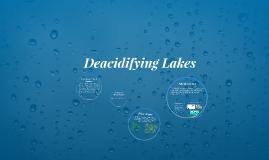 Deacidifying Lakes