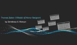 Thomas Baker: A Medal of Honor Recipient