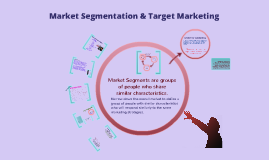 Copy of Market Segmentation & Target Marketing