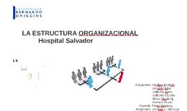 Copy of LA ESTRUCTURA ORGANIZACIONAL