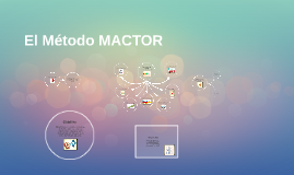 Copy of Metodo MACTOR