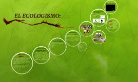 definición de ecologismo
