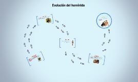 Evolución del hominido