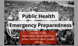Copy of NYC Emergency Preparedness