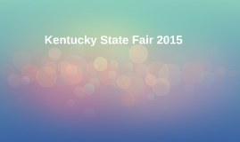 Kentucky State Fair 2015