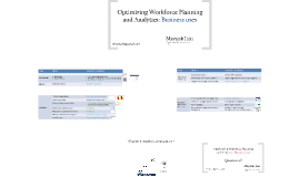 Enabling Business Strategy with Strategic Workforce Planning & Analytics - 2013