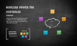Nuclear Power for Australia