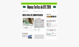 Nuevas Tarifas de CFE 2018