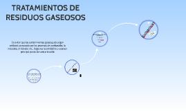 Copy of TRATAMIENTOS DE RESIDUOS GASEOSOS