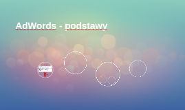AdWords - podstawy
