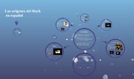Los orígenes del Rock en español
