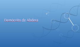 Demócrito de Abdera