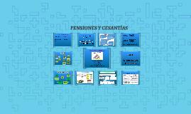 PENSIONES Y CESANTIAS