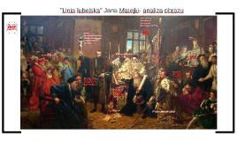 Unia lubelska Jana Matejki- analiza obrazu
