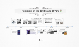 Feminism of the 1960's and 1970's