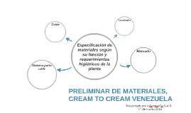 PRELIMINAR DE MATERIALES.