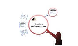 Choosing a Performance Piece