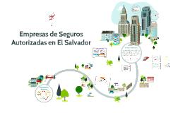 Empresas de seguros autorizadas en El Salvador