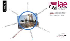 Présentation de l'IAE de Bretagne Occidentale (étudiants)