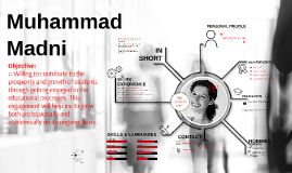 FREE TEMPLATE - Perfect Curriculum Vitae  by Muhammad Madni