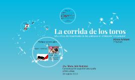 La corrida de los toros