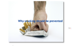 smoking prevention