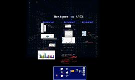 Designer to APEX