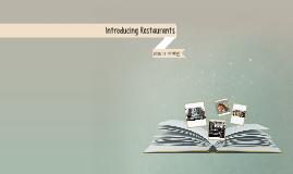 Introducing Restaurants