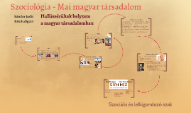 Mai magyar társadalom