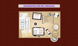 Copy of ADMINISTRACIÓN DEL PERSONAL