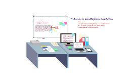 Copy of Bosquejo de trabajo de tesis doctoral