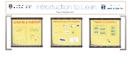 Introduction to Lean for The University of Melbourne, 19 September 2014