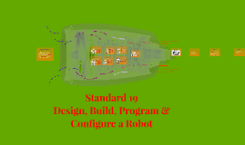 Standard 19 - Design, Build, Program & Configure a Robot