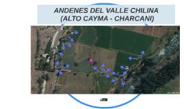 ANDENES DEL VALLE CHILINA