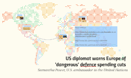 United States Ambassador to the United Nations Samantha Power