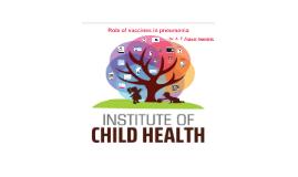Role of vaccines in pneumonia