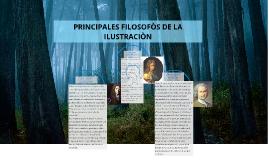 PRINCIPALES FILOSOFÒS DE LA ILUSTRACIÒN